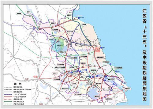 无锡至青岛铁路规划