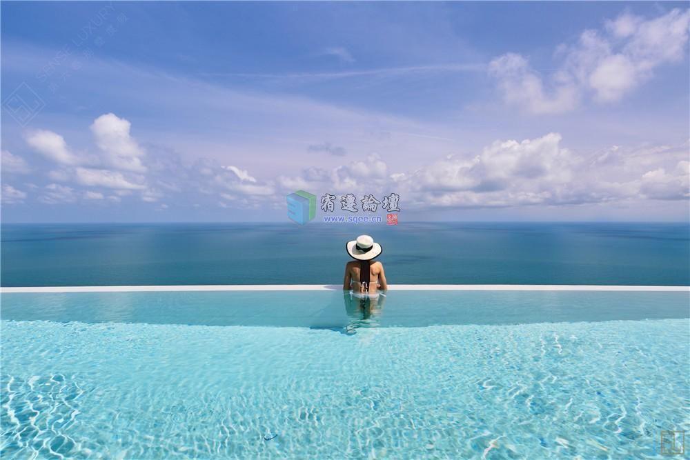 在苏梅岛上,你可以和家人一起漫步海边,也可以环岛游玩,看星辰大海,品
